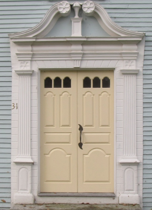 Doorway, Hatfield, Massachusetts, historic house